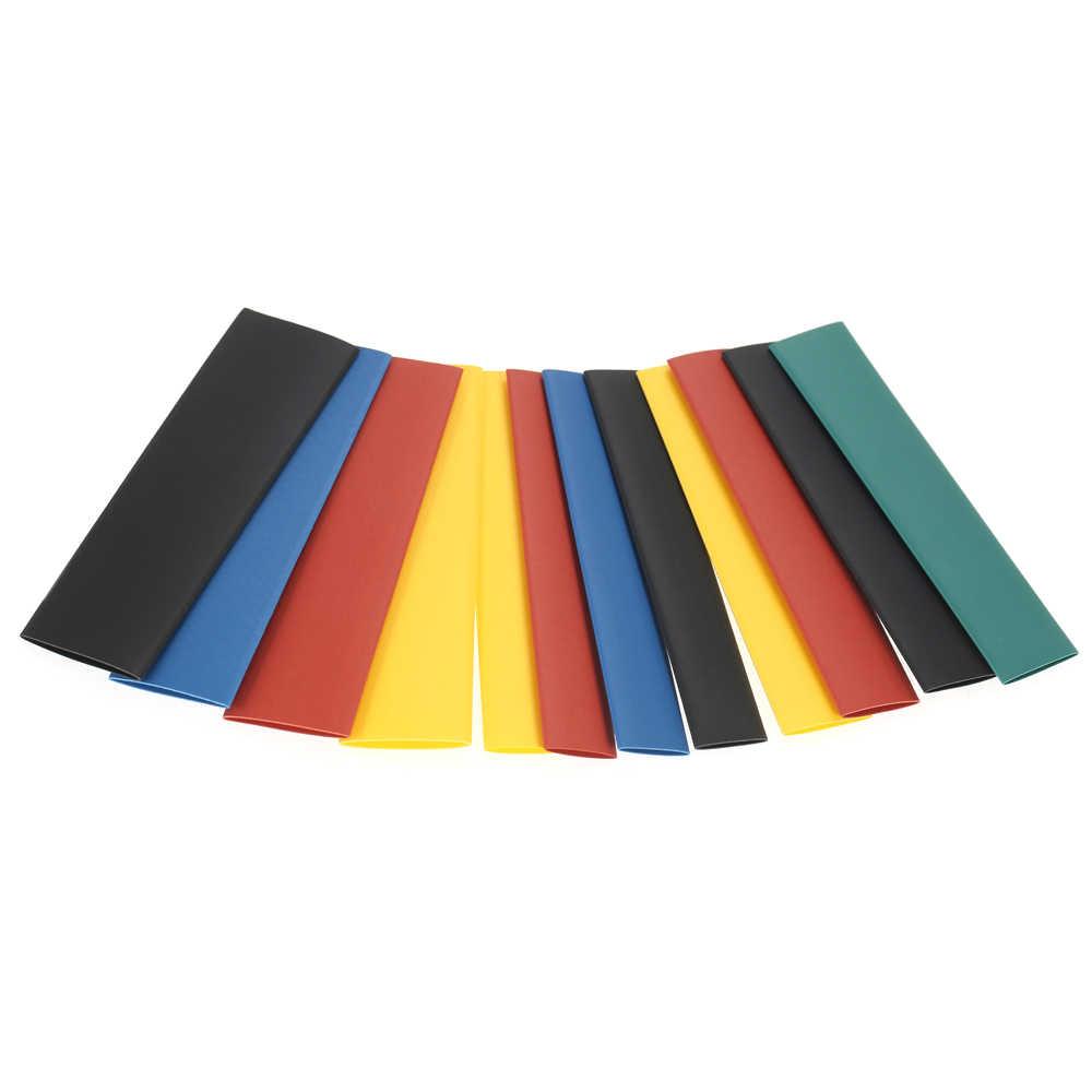 8 rozmiarów profesjonalna kolorowa poliolefinowa 2:1 bezhalogenowa rurka termokurczliwa Sleeving 328pcs/164pcs