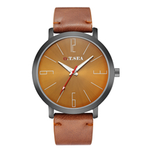 2018 New Fashion O.T.SEA Brand Leather Watches Men Military Sports Quartz Wrist Watch Relogio Masculino 1219 все цены