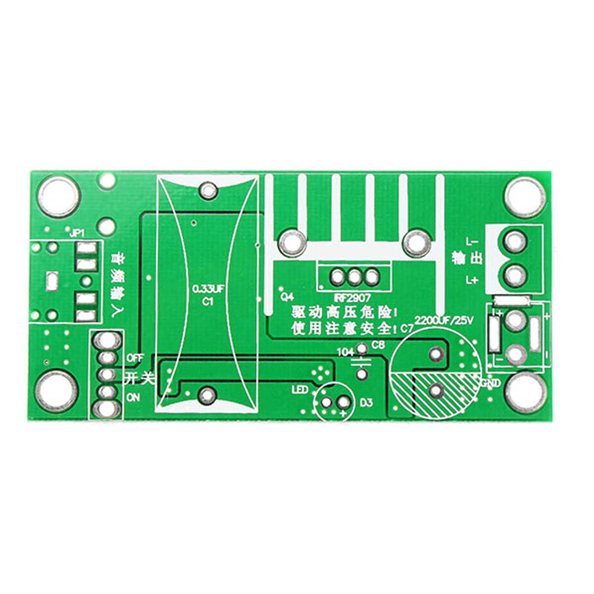 Leory 20KV ZVS для катушки Тесла усилитель высокого напряжения генератор плазменной музыки дуги Сделай Сам спикер комплект