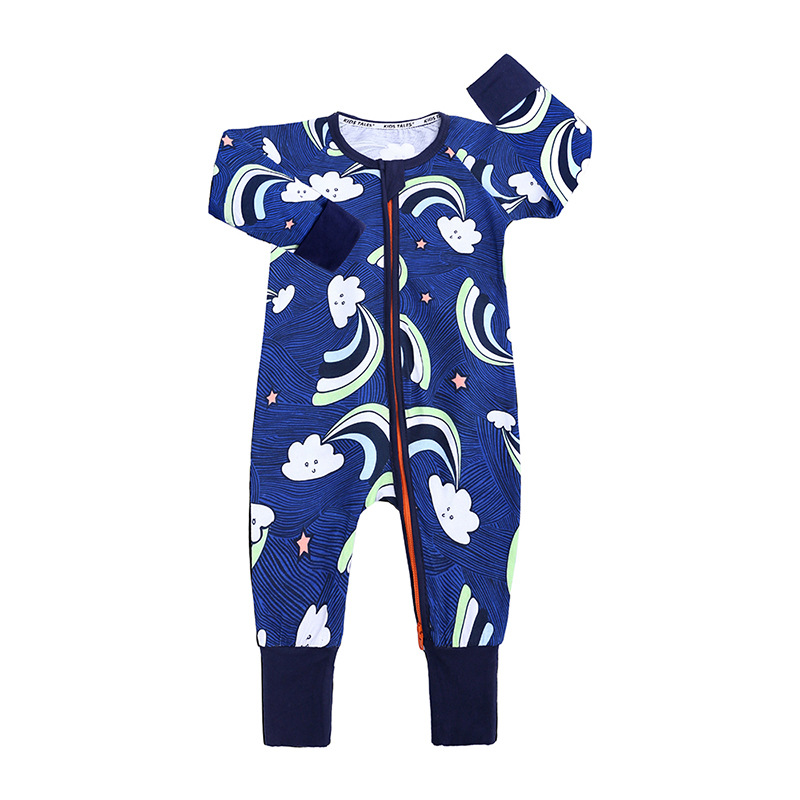 Autumn Baby Boy Rompers Christmas Clothes Jumpsuits Newborn Cotton Girl Infant