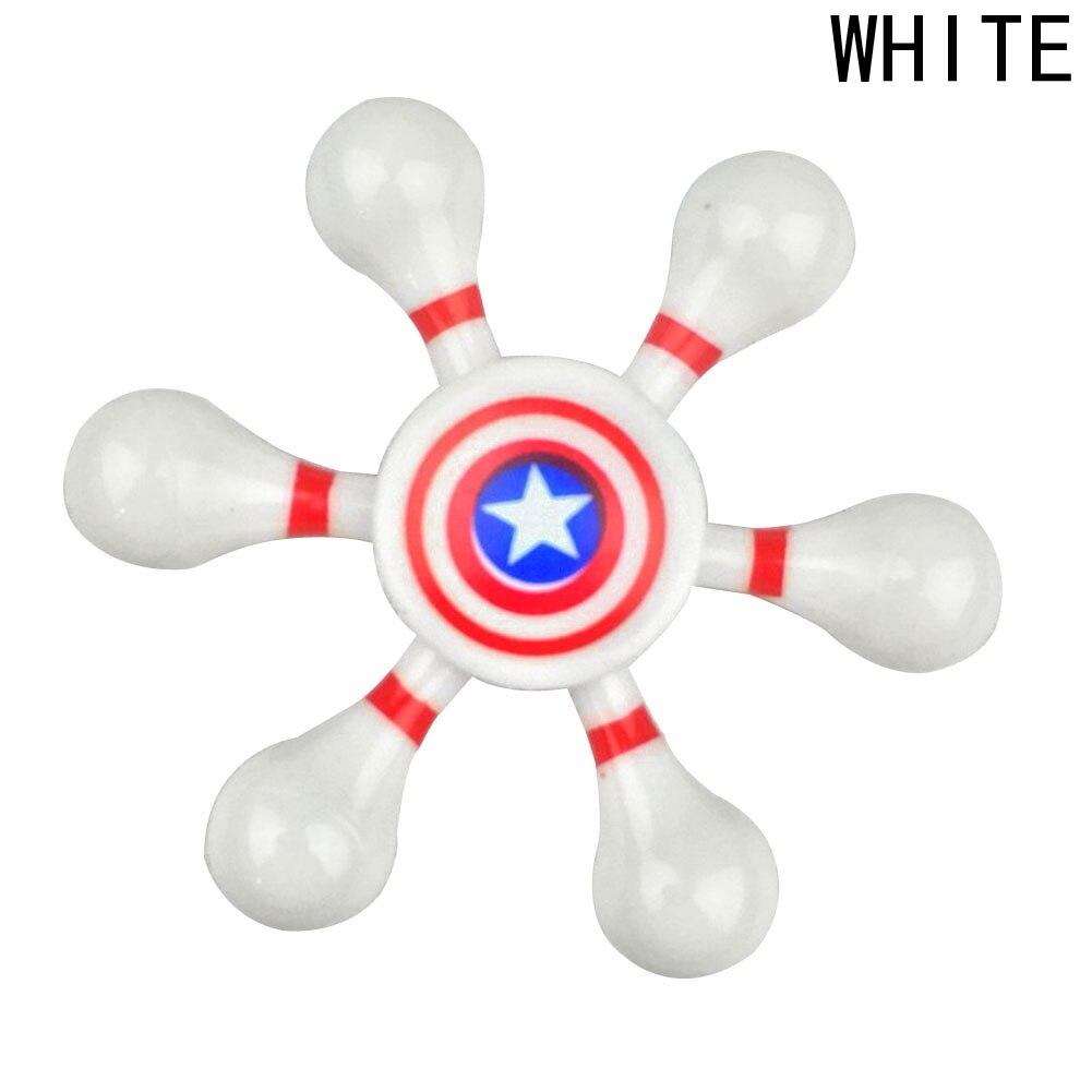Hot! The Avengers Hexagon Rudder Gyro Fidget Spinner Finger Spinners Decompression Rotating Hand Spinners Children Adult Toys
