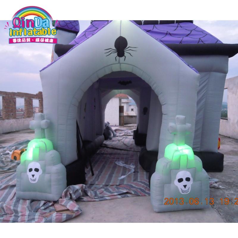 halloween inflatable haunted house33