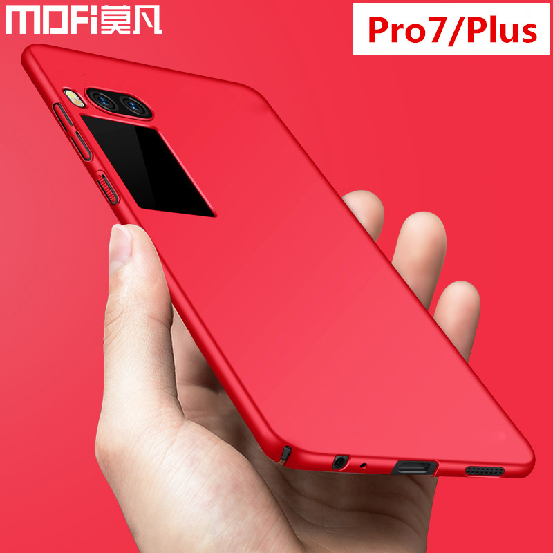 Meizu Pro 7 Plus case cover pro7 back cover hard PC full protective phone capas black MOFi original Meizu Pro 7 case and covers