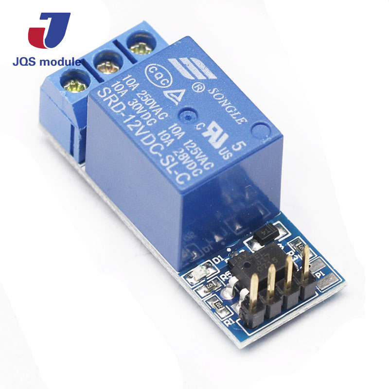 one 1 channel relay module, with optocoupler isolation, compatible with 3.3V and 12V Signal, relay control 5v relay isolation control module