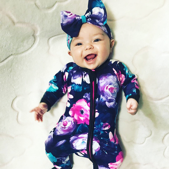 37e58f66a93e Wondersuit Baby Girl Clothes Newborn Rompers Bebe Jumpsuits Knit Floral Vintage  Toddler Costume Onesie Infant Daddys 2018