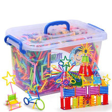 Little People Interconnecting Plastic Blocks Kindergarten Teaching Educational Building Toys 420Pcs/Lot Games Grownups Wholesale(China)
