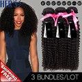 Бразильские странный вьющиеся волосы девственницы, 3 шт. вьющиеся переплетения пучки, Афро кудрявый вьющиеся волосы, 100 расширение переплетения человеческих волос