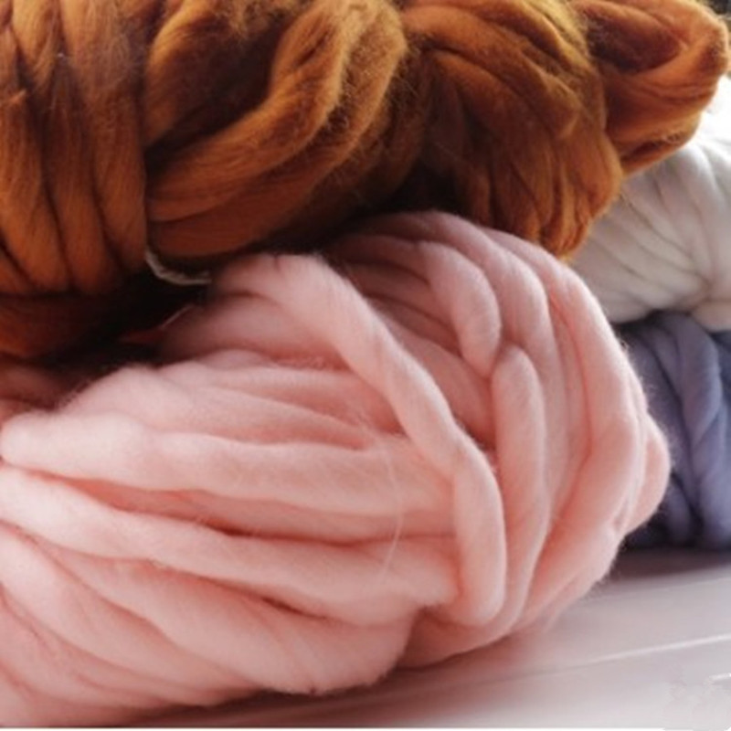 Korea Katie Fashion Thick Big Yarn For Hat & Scarf Thick Knitting DIY - Arts, Crafts and Sewing - Photo 2
