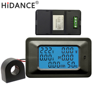 AC 2WKW 85 250V 100A Digital Voltage Meters Indicator Power Energy Voltmeter Ammeter Current Amps Volt