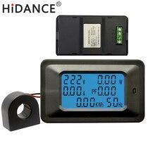 AC 25KW 85~250V 100A Digital Voltage Meters indicator Power Energy Voltmeter Ammeter current Amps Volt wattmeter tester detector