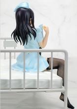 Japan children Sexy Girl doll Lechery Daydream Nurse Miyuu 1/6 PVC Action Figure Collection Model Toy T5625