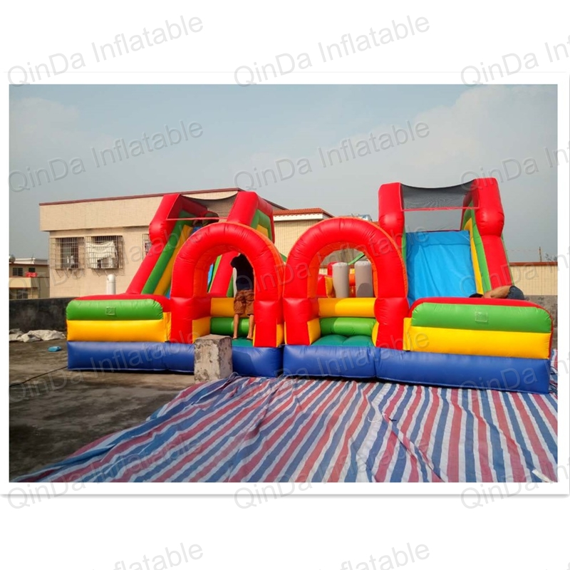 Amusement park toys EN14960 commercial giant inflatable fun city big inflatable obstacle games giant inflatable games commercial bounce houses 4 4m 3 3m 2 6m bouncy castle inflatable water slides for sale toys