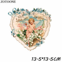 Patches Iron On Patch Pretty Angel Diy Decoration Easy Print By Household Irons Parches Ropa A-Level Washable C