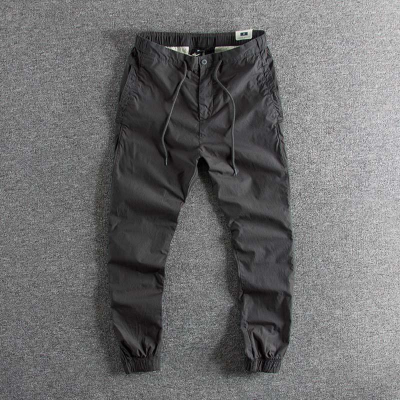 Spring 2009 New Leisure Pants Men Summer Thin Loose Port Wind Wear Pants Men Fashion Brand Bottom Pants Boy's Designer On Sale