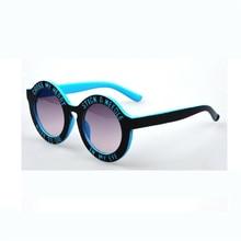 New Cute Fashion Round Sunglasses for Kids Brand Boys Girls