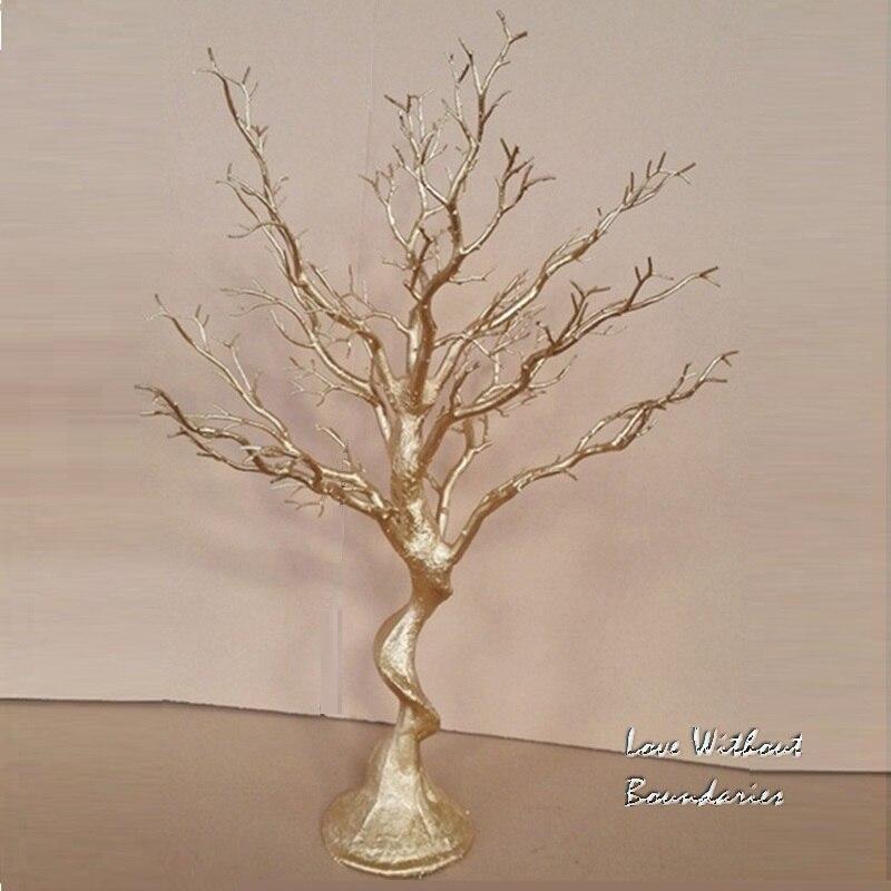 Simulatie, wit kerstboom, stuurpen tak, kofferbak, milieubescherming hars, 8 kleuren kan kiezen - 2