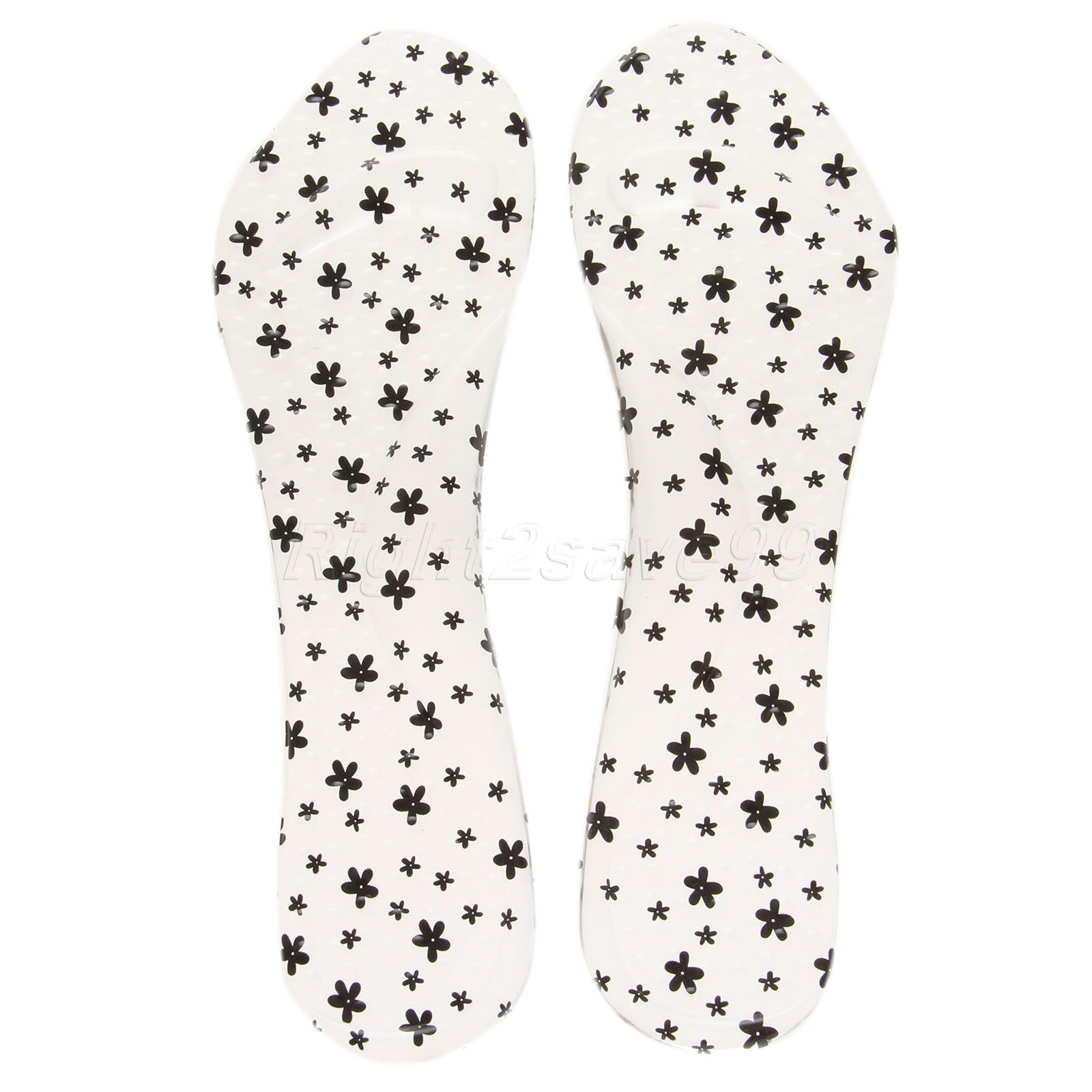 2017 High Quality1 Pair Plum Blossom Soft Foot Silicone Arch Support Heel Cushion Flat Feet Shoe Insole Massage Pad Feet Care