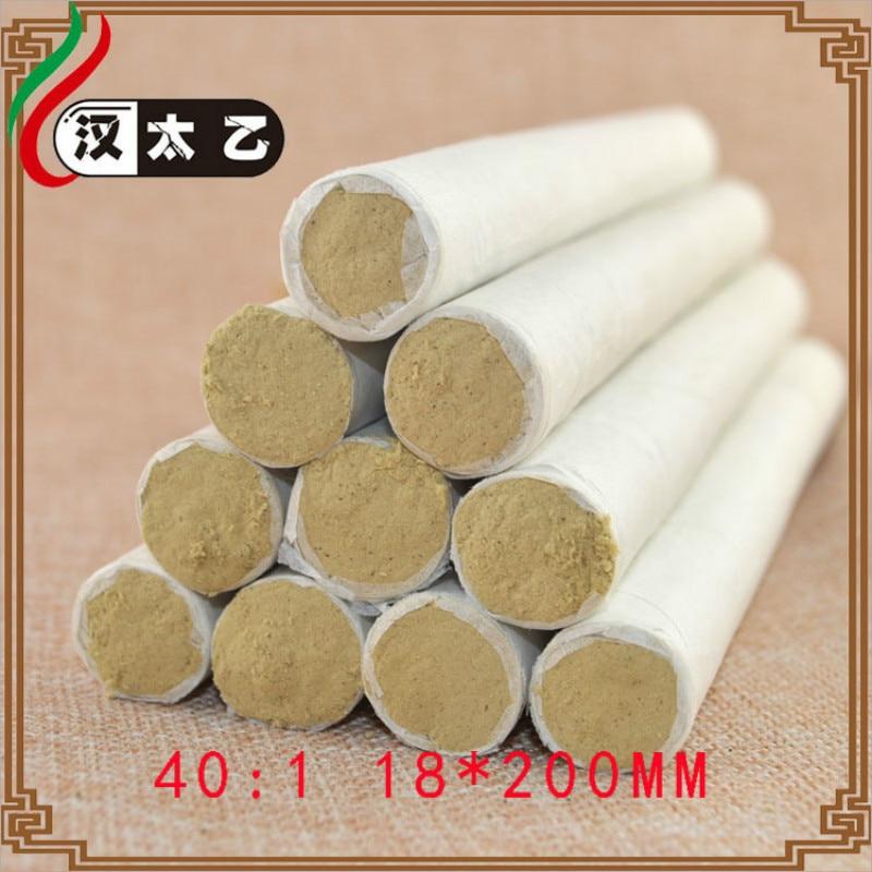 40:1 20 PCS/LOT OLD Mugwort  BAR Moxibustion Traditional Chinese Medicine Massage Relaxation Beauty