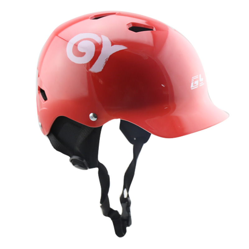 GY SPORTS ABS Material  Kayaking Sport safety helmet canoe helmets for kayak rafting protective helmet-in Helmets from Sports & Entertainment    3