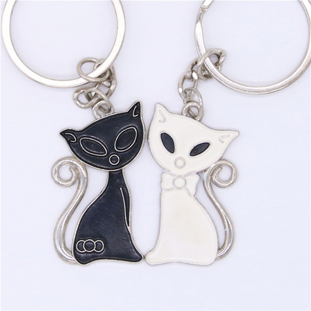 Valentines Day Gifts Wedding Gifts Black And White Cat Couple