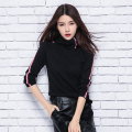 2016 women's autumn cashmere sweater slim fashion long-sleeve turtleneck sweater pullover wool sweater basic shirt