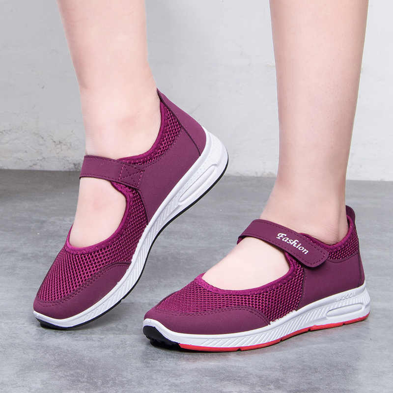 ZHENZU Female Running Shoes Sport Shoes Woman Sneakers Women Breathable Ladies Walking Jogging chaussure femme Size 35-41
