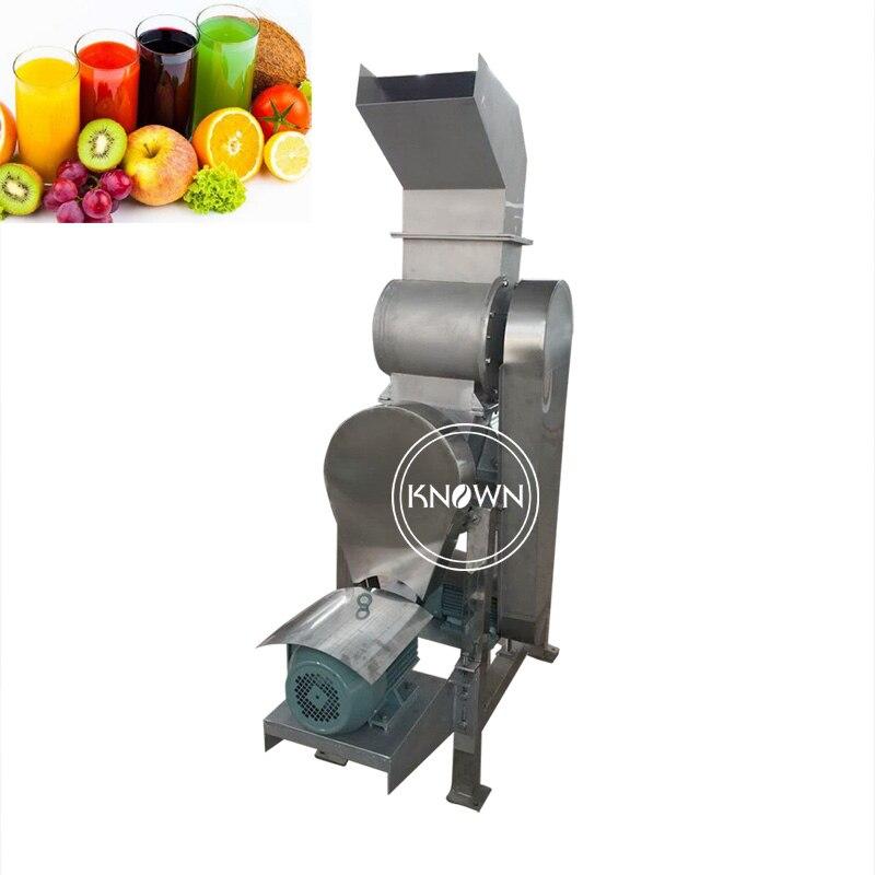 Machine industrielle d'extracteur de jus de fruit de machine de presse-agrumes de 1.5 T/H faisant la machine pour des fruits et des légumes