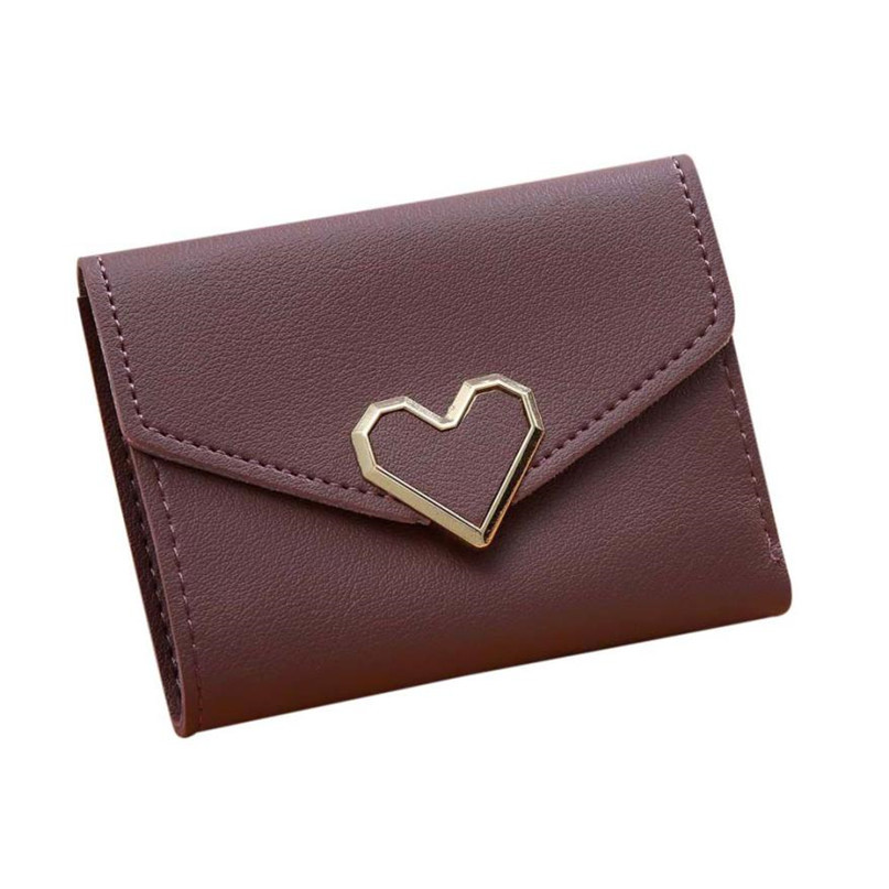 Maison Fabre Fashion Wallets Women 6 Colors Women Simple Short Wallet Hasp Coin Purse Card Holders 2017 Hot DropShipping OB16 3