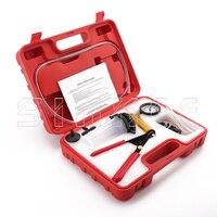 Hand Held Brake Bleeder Tester Set Bleed Kit Vacuum Pump Car Motorbike Bleeding