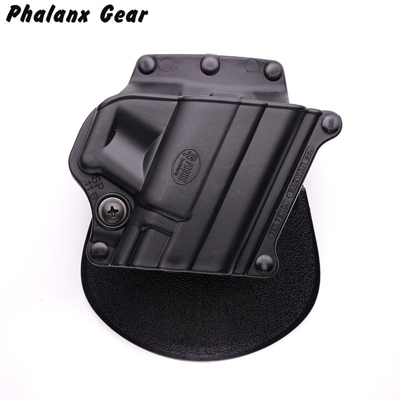 Military Tactical Airsoft Holster GL2 BR2 SG21 1911 Black Double Magazine Pouch CU9G Handcuffs image