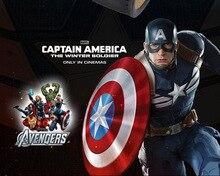 Los Nuevos Vengadores Capitán América película Weilin reloj de Los Hombres frescos tema de los hombres reloj de pulsera de cuarzo marvel hero signo de cuero Niños niño reloj