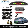 Автомобильный комплект светодиодных датчиков парковки 22 мм Датчики Подсветка Дисплей обратный резервный Радар монитор Система Авто паркт...