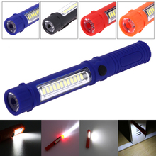 Multifunction Portable Mini LED Flashlight Inspection Work Light Torch light with Magnet Hand Torch Flashlight USE 3*AAA