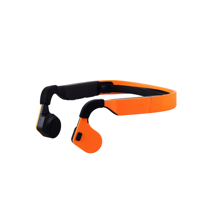 Wireless Bluetooth Earphone Intelligent Stereo Bone Conduction Headset Life Waterproof NFC Handsfree Neck-strap Sport Headphone