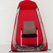 New Outdoor Sports Tent Red Private Viewing Tent Match Insulation Tent Sports Goods Tent