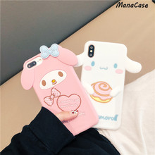 Cinnamoroll, My Melody, Pompompurin Case For iPhone X XS MAX XR 6 6s 7 8 Plus