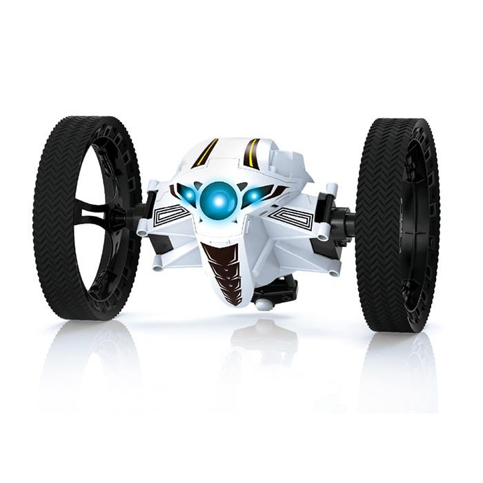 RC Jumping Car RC Bounce Car 2.4G Remote Control Toys Jumping Car Flexible Wheels Rotation LED Night Light RC Robot Car