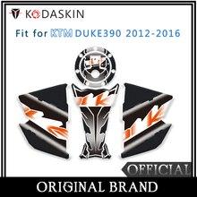 KODASKIN Motorcycle For KTM DUKE390 12-16 Fuel Tank Cap Sticker Protective Side Sticker KTM Modified Fuel Tank Sticker стоимость