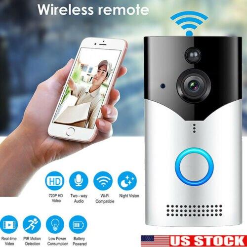Умный беспроводной WiFi Кольцо Дверной звонок видео камера телефон звонок Домофон Домашняя безопасность