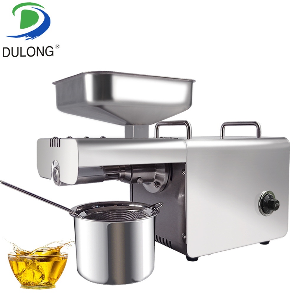 Stainless steel small sunflower seeds coconut nuts cold press oil machine cocoa bean oil extractor machine oil press machine