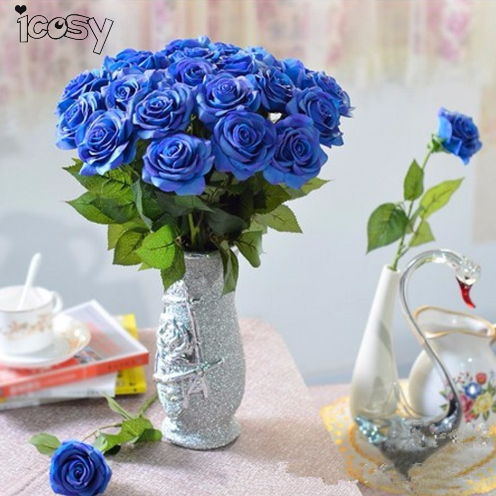 popular real blue flowers buy cheap real blue flowers lots from china real blue flowers. Black Bedroom Furniture Sets. Home Design Ideas