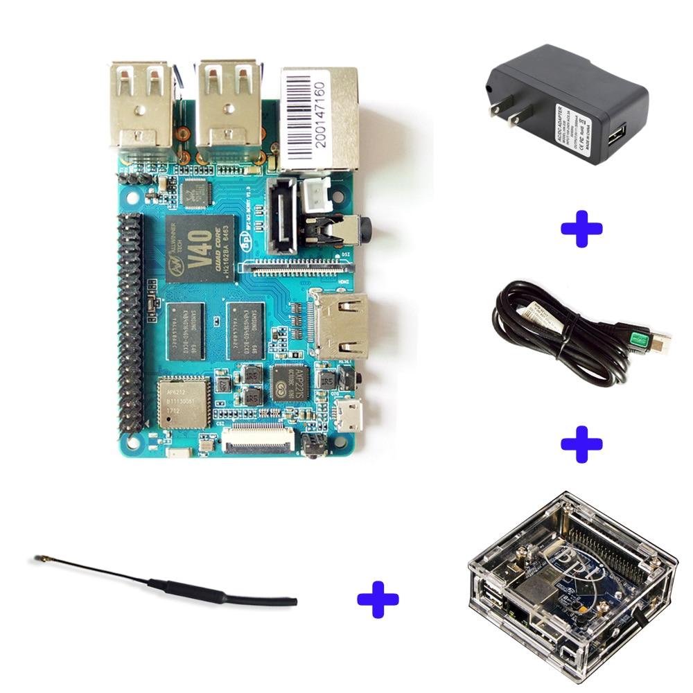 Banane Pi BPI M2 Berry Dual core Mali 400 MP2 GPU 1G LPDDR3 Ouvert-source Conseil de Développement, même Taille que Framboise Pi 3