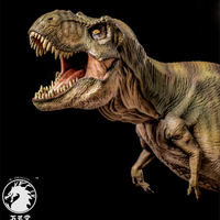 2018 Produced Prehistoric Movie Jurassic World 2 Rex Tyrannosaurus Model Toy Gift Ornaments 1:35