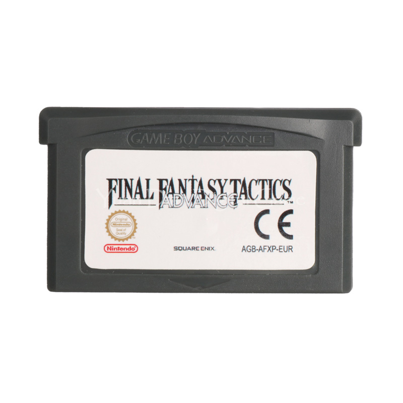 Nintendo GBA Video Game Cartridge Console Card Final Fantasy Tactics Advance ENG/FRA/DEU/ESP/ITA Language Version for nintendo for game boy advance sp for gba sp screen lcd backlit brighter highlight ags 101