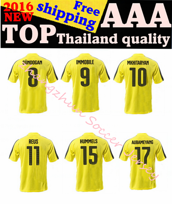 NEW! Camisa Borussia Dortmund 15 16 de futebol Dortmund FC Marco ...