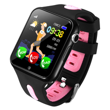 Espanson V5 Children GPS Smart Watch With Camera Facebook Emergency Security Anti Lost SOS For ISO Android waterproof baby Watch