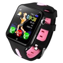 Espanson V5 Children GPS Smart font b Watch b font With Camera Facebook Emergency Security Anti