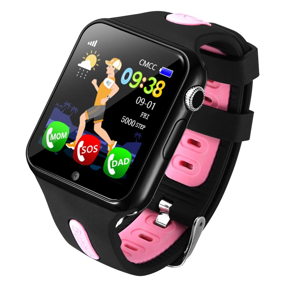 Espanson V5 Kinder GPS Smart Uhr Mit Kamera Facebook Notfall Sicherheit Anti Verloren SOS Für ISO Android wasserdichte baby Uhr