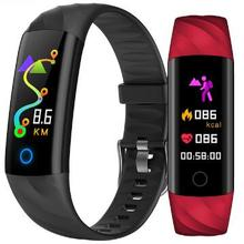 цена New Smart band K1 Smart Wristband Pedometer Heart rate monitor Fitness Bracelet Activity Tracker PK Xiaomi mi band 2 PK fitbit онлайн в 2017 году