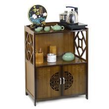 Высококачественная бамбуковая Питьевая стойка для воды, шкаф для хранения посуды, чайник для индукционной плиты, чайный набор, полка для ведра